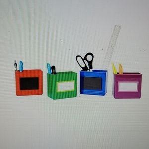 Space Saver Magnetic Bins, Set of 4